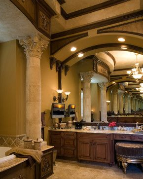 Bathrooms By Olde World   Traditional   Bathroom   Tampa   Olde World  Cabinetry