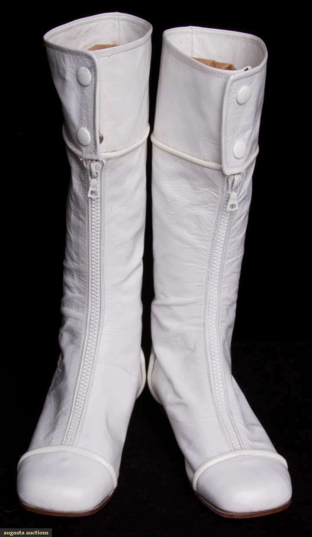 Courreges Shoes 60 S Google Search Gogo Boots Boots Retro Fashion Vintage