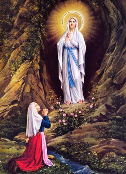 Image result for Bernadette Soubirous aty lourdes