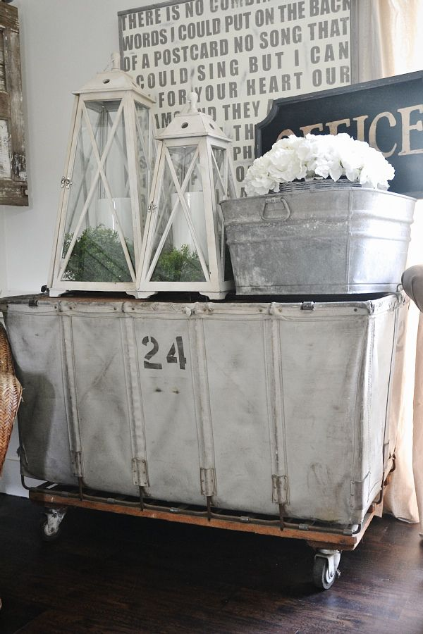 Early Summer Home Tour Vintage Laundry Summer Home Decor