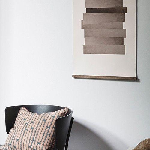 Sfeerfoto Van Ferm Living Met De Abstraction Poster En De Ferm Ferm Living  Abstraction Poster Is