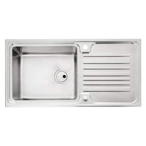 Abode Apex 1.0 Bowl Stainless Steel Kitchen Sink   Ext kitchen ...