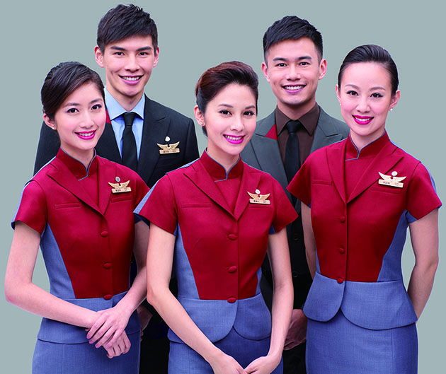 China Airlines Taiwan Costume Airlines Uniform