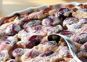 Clafoutis aux raisins léopold