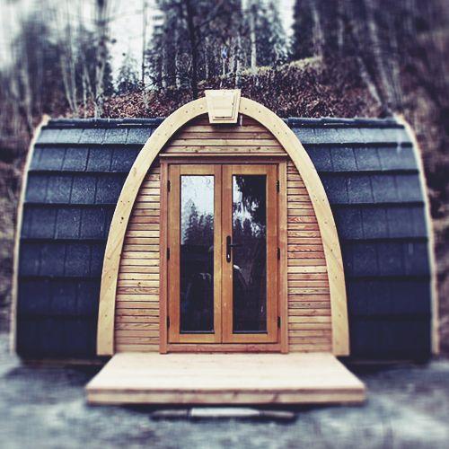Shepherd Hut Floor Plans: Camping Pod, Tiny House Cabin
