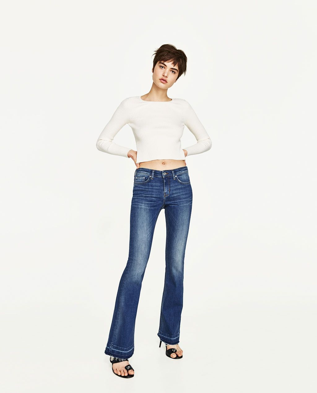 199b0cc4 THE SKINNY FLARE HELEN in 2019 | THINGS I LOVE | Flare jeans, Jeans ...