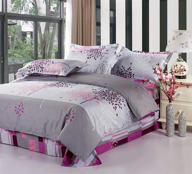 Magenta Comforter Queen Bedding Sets, Magenta Bedding Sets