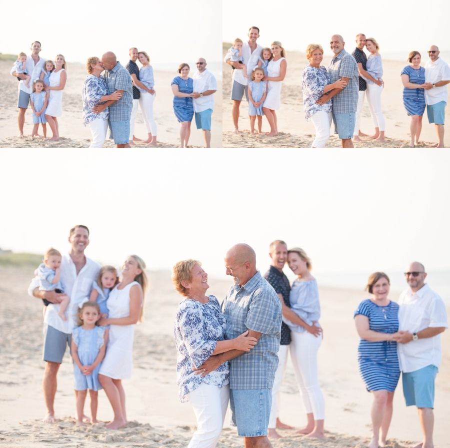 OBX–Eastern NC Photographer/Outer Banks,NC Family Photographer, Posing for family of 4, Family Beach pictures, Katie Myrick Photography, OBX, Posing for family of 5, Extended Family Session, OBX Extended Family Session, Duck, NC #extendedfamilyphotography