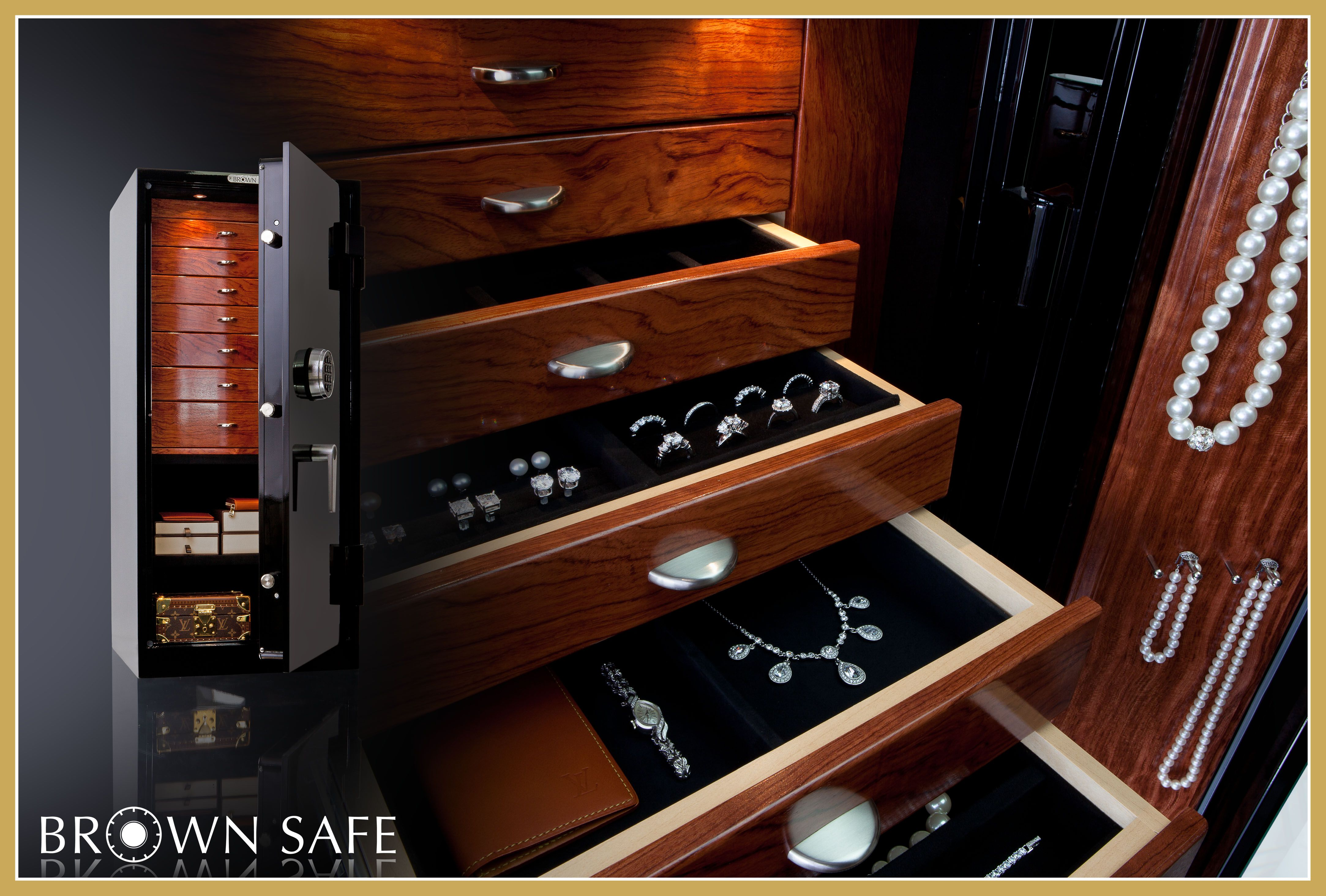 18+ Home jewelry safes with drawers info