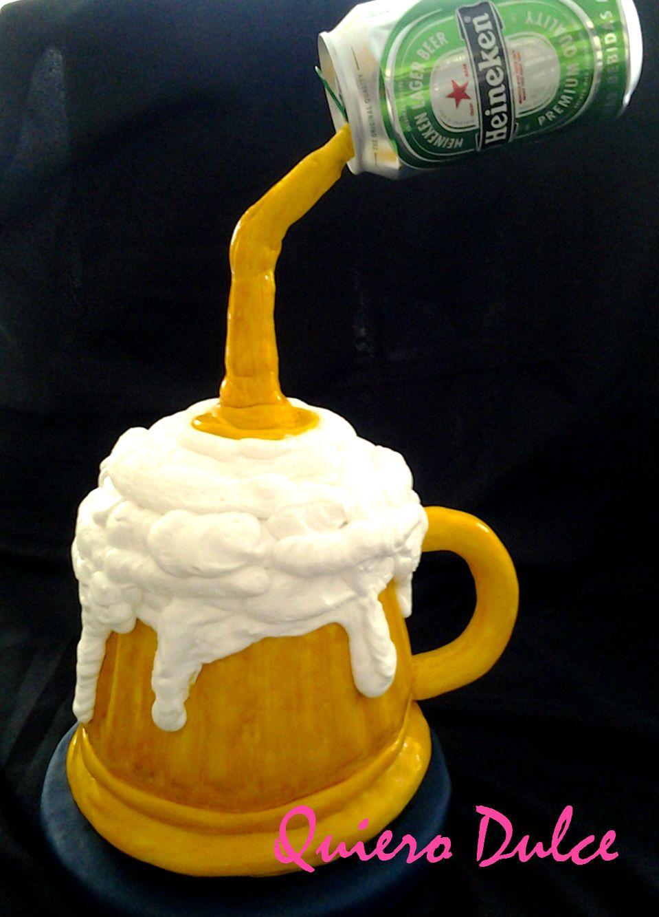 Torta  chopp de cerveza ,