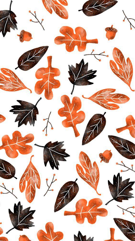 Fall Patterns Again Cute Fall Wallpaper Iphone Wallpaper Fall Fall Wallpaper