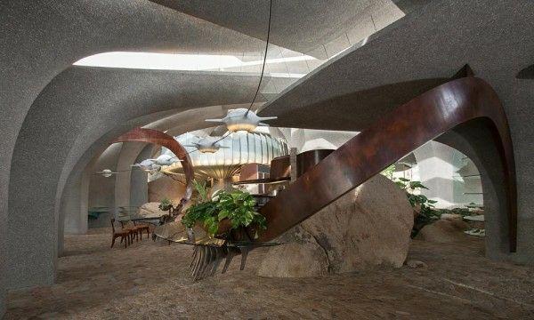interieur maison design original | Désert | Desert house ...