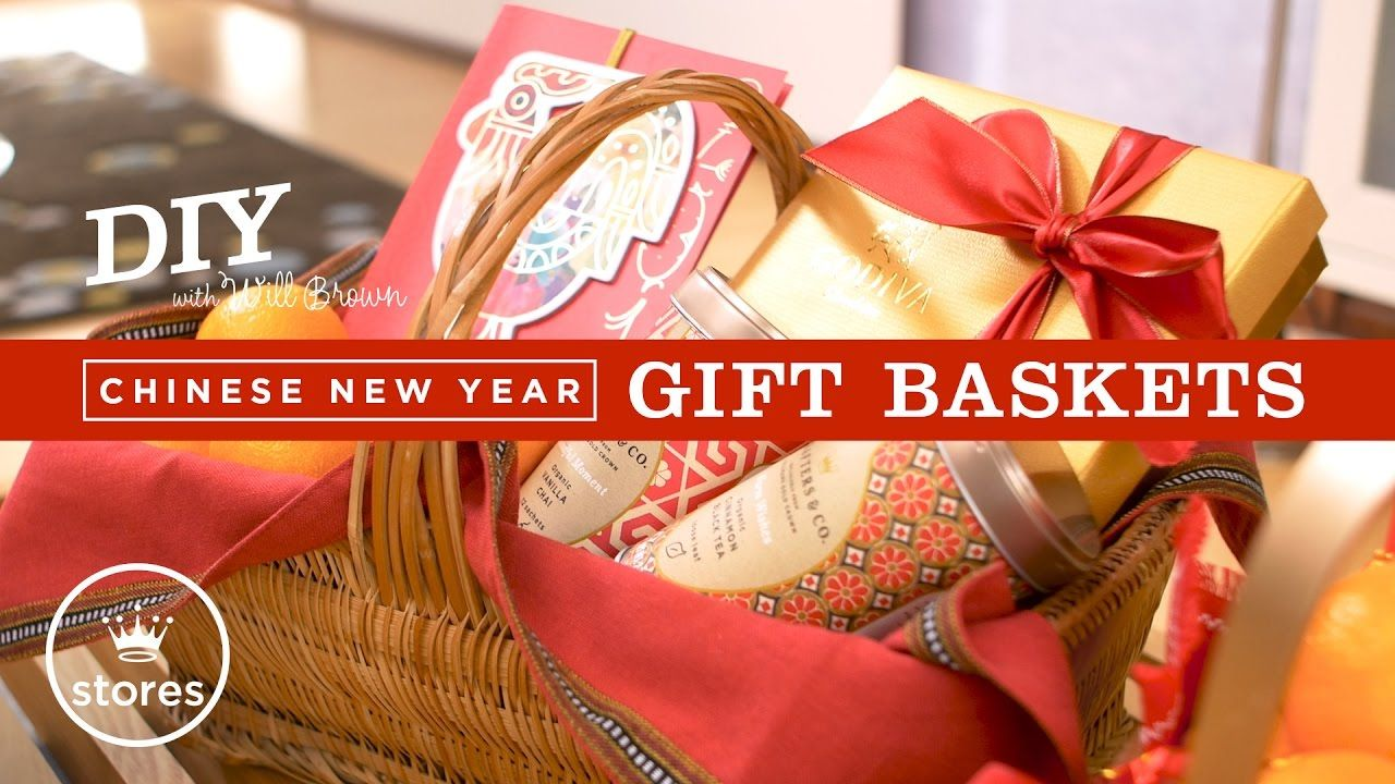 Chinese New Year Gift Basket DIY with Will Brown