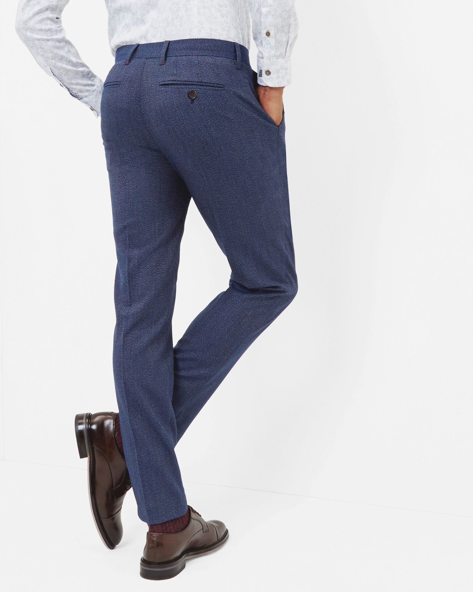88f2a327150c92 Modern fit pants - Bright Blue