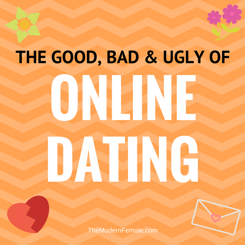 bad things about dating online