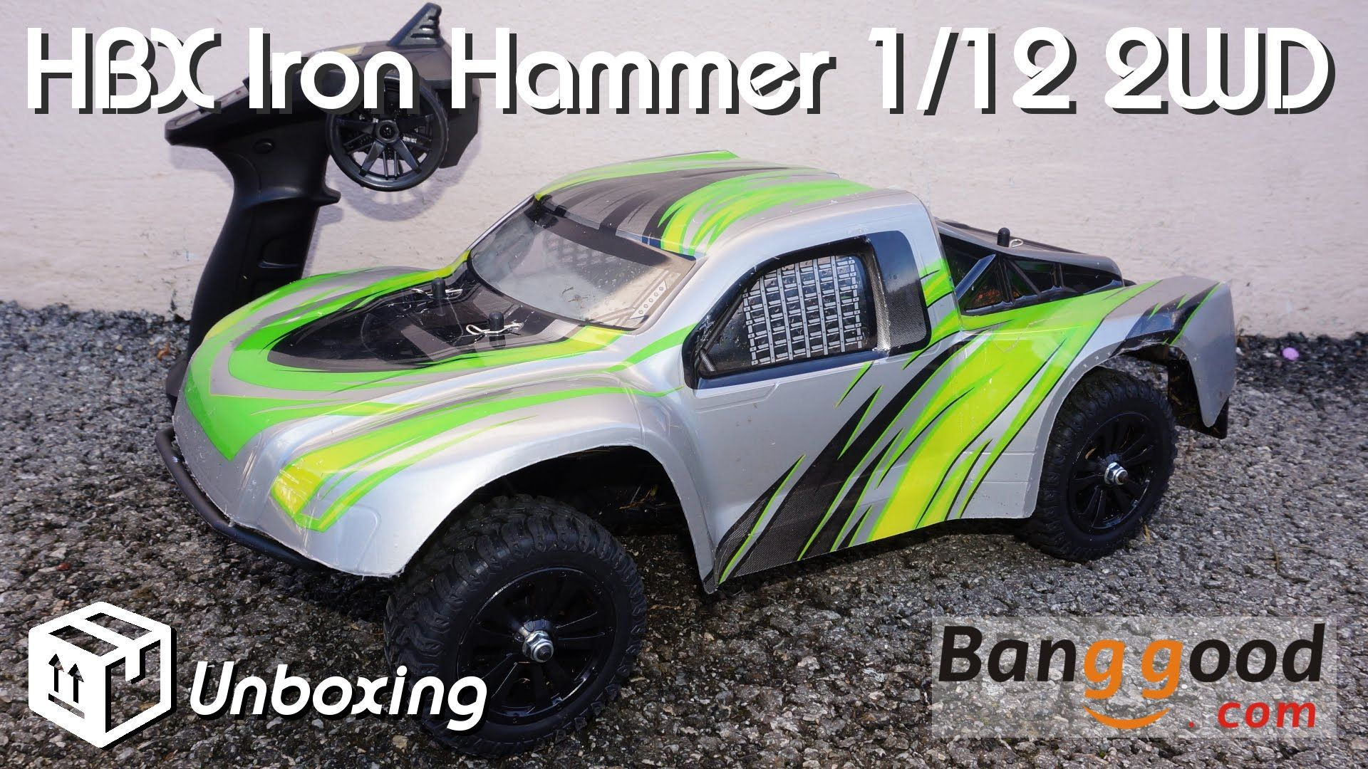 • HBX - IRON Hammer 1/12 2WD -  Unboxing •