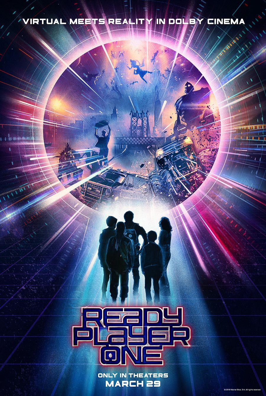 Ready Player One Poster Created by Rich Davies Ready