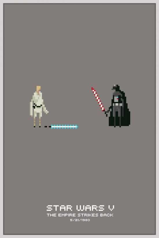 Pixel Star Wars