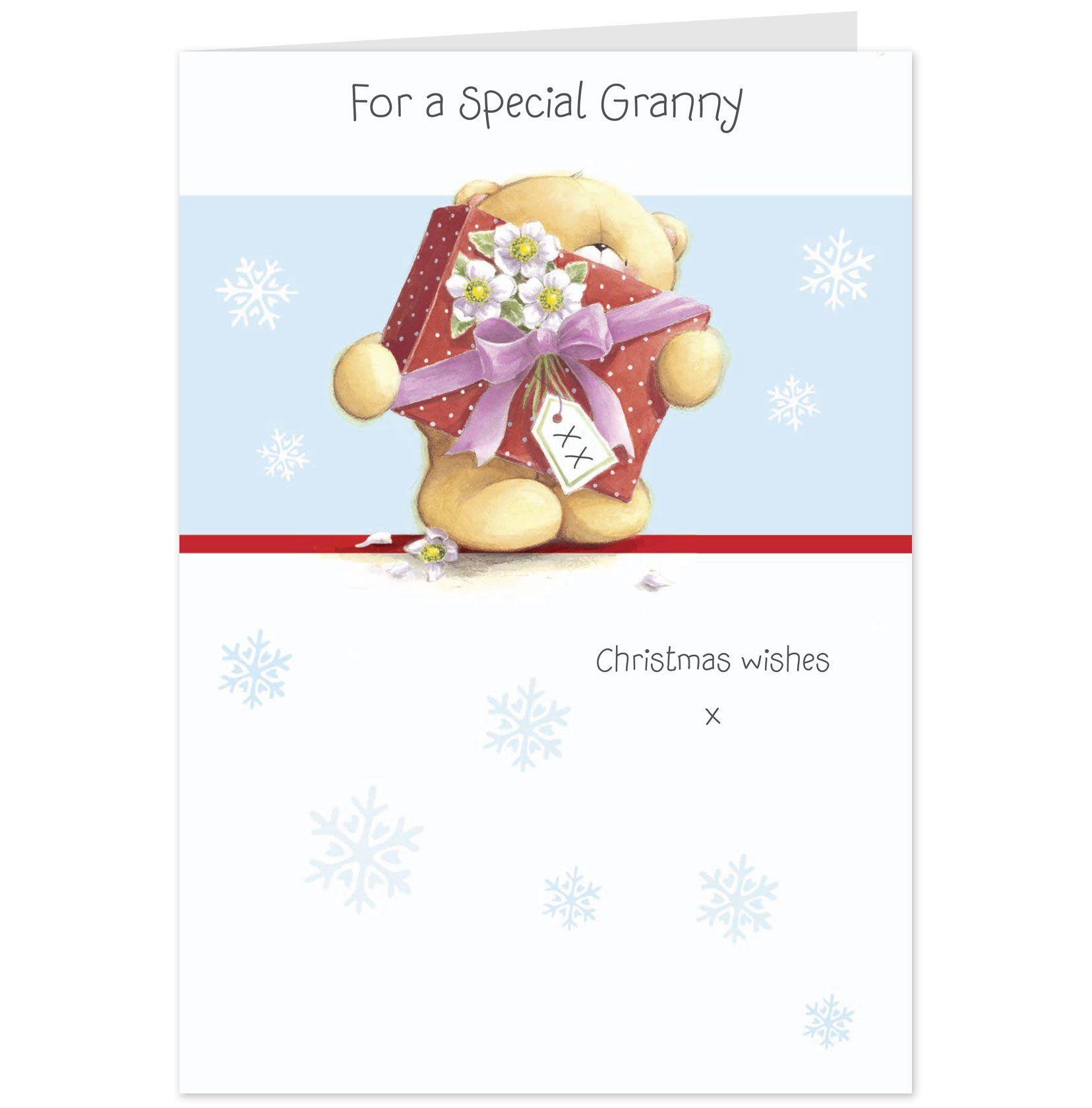 Forever Friends Special Granny Christmas Card-Hallmark UK