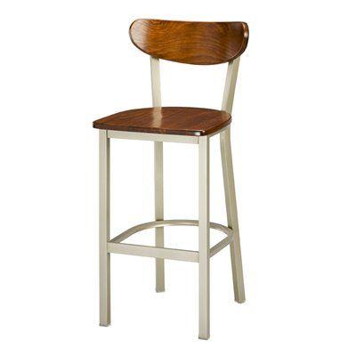 Regal Seating 2511w Moon Wood Back Bar Stool Bar Stools Stool Lowes Home Improvements