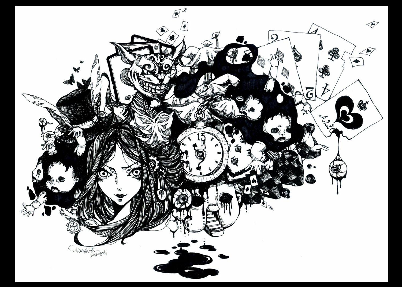 Alice The Madness Returns Dark Alice In Wonderland Wonderland