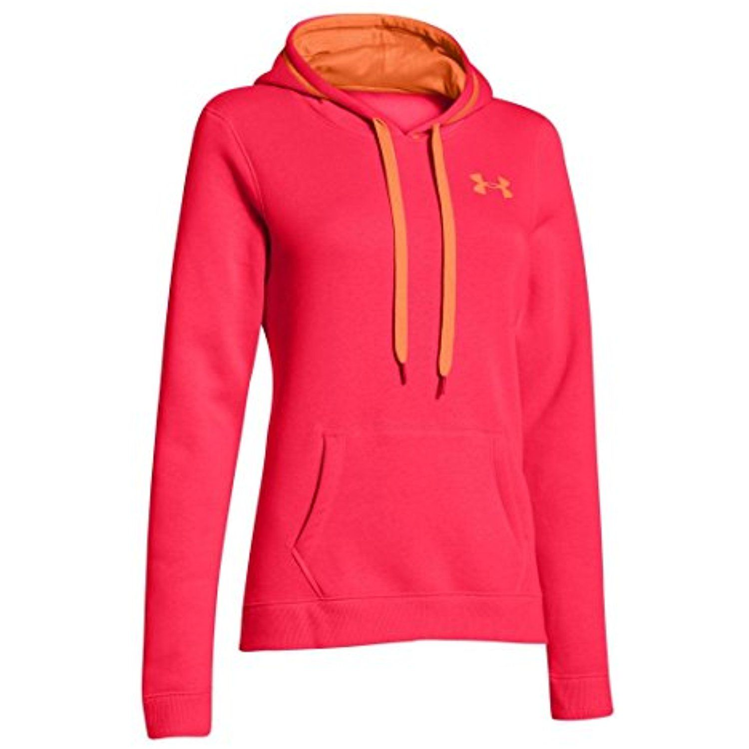 free shipping 7d189 c9e16 Under Armour Women s UA Rival Cotton Hoodie X-Large Neo Pulse   Check out  the