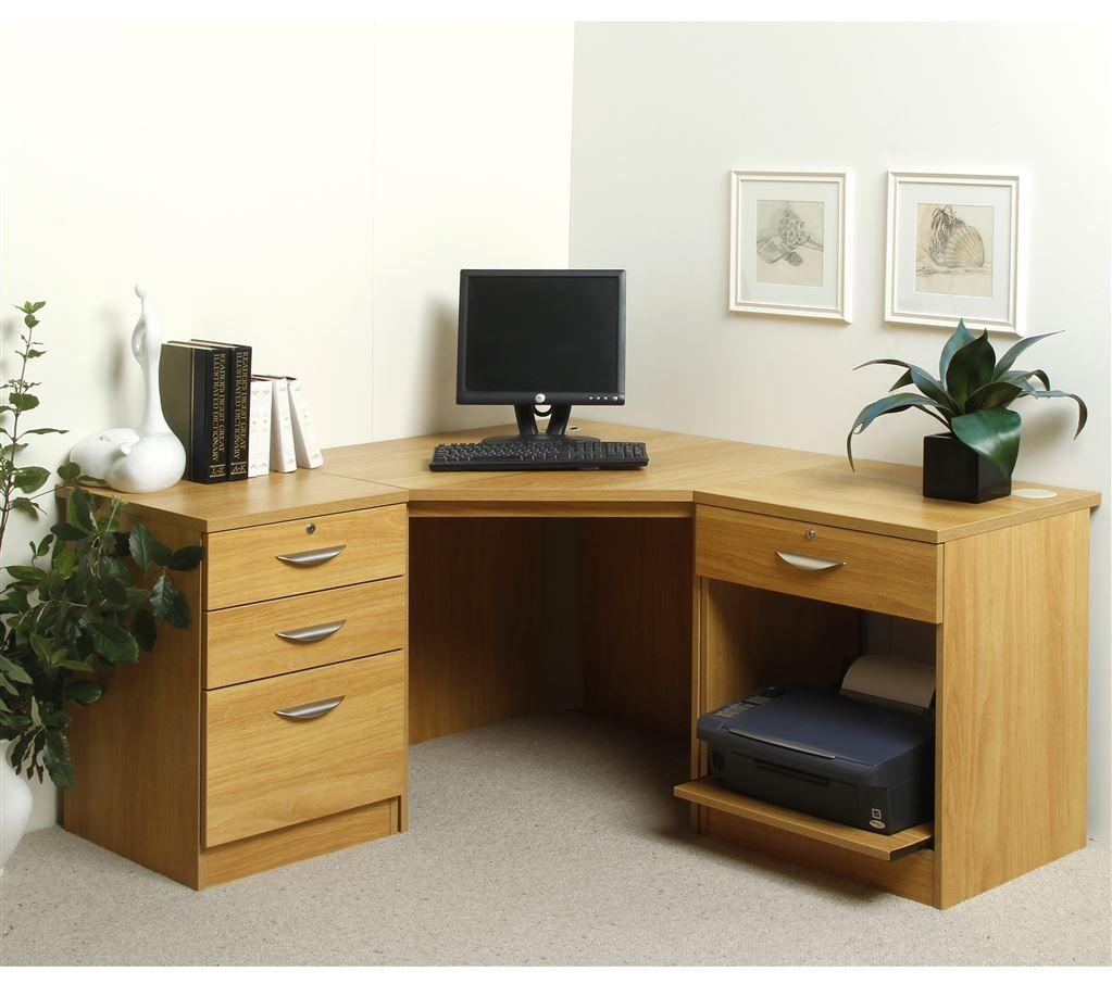 99 Oak Corner Office Desk Rustic Home Furniture Check More At Http