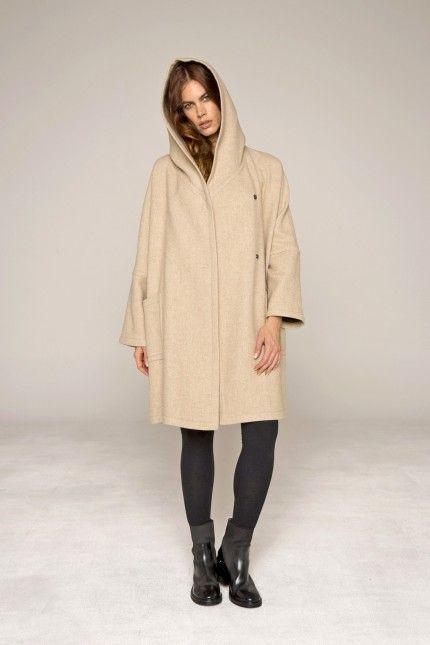 Manteau ample, très souple en alpaga  manteau  ample  souple  bleige   alpaga  femme  qualité  lenerfabriquedemanteaux 0c7f922355da
