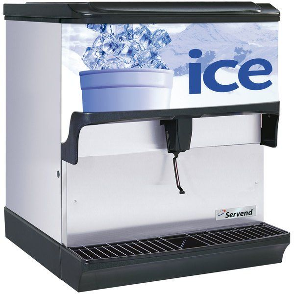 Servend 2705138 S200 Countertop Ice Dispenser In 2020 Countertops Water Dispenser Hotel Supplies