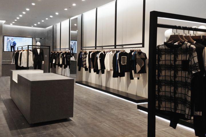 Gentle Menswear Store By Ac Studio Wenzhou China Retail Design Blog Interior Retail Store Design Store Design