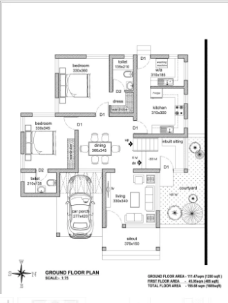 I Will Draw Floor Plans Site Plan Section Or Elevation In Autocad Floor Plans Site Plan Interior Architecture Design