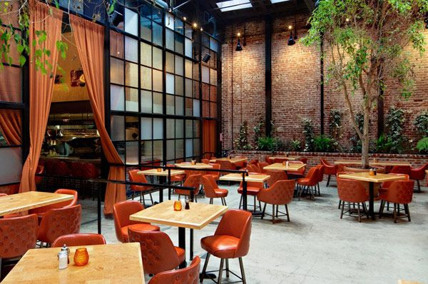 Industrial Style Restaurants In L A You Can T Miss Bar Design Restaurant Vintage Restaurant Bar Design