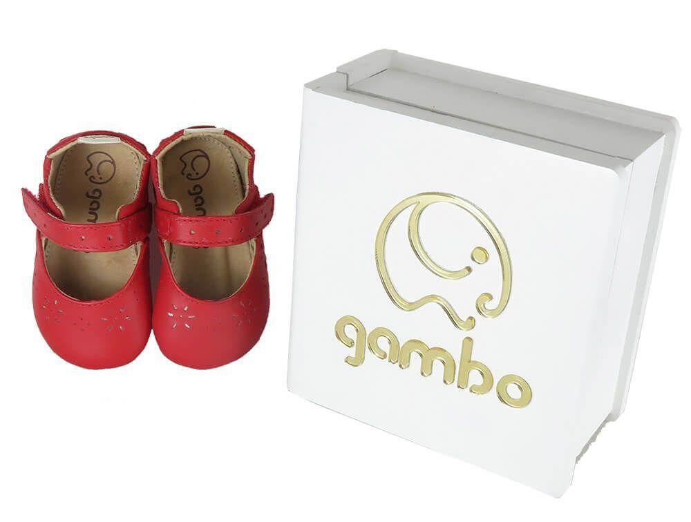 Sandália Infantil Cristal Preta Gambo