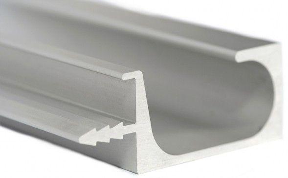 Aluminum Extruded Handles Quality Kitchen Cabinet Doors Since 2005 Quality Kitchen Cabinets Sleek Furniture Cabinet Doors