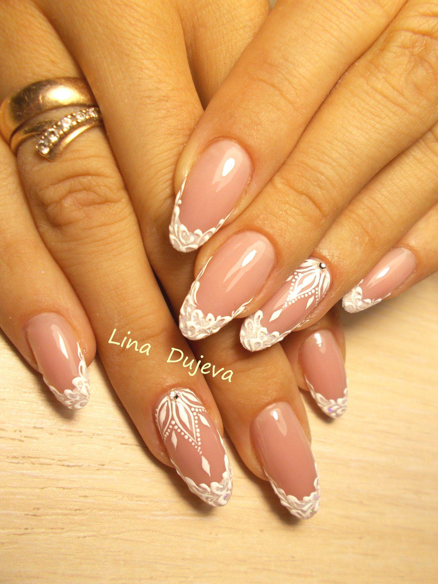 Фотографии Лины Дюжевой in 2020 | Lace nails, Luxury nails ...