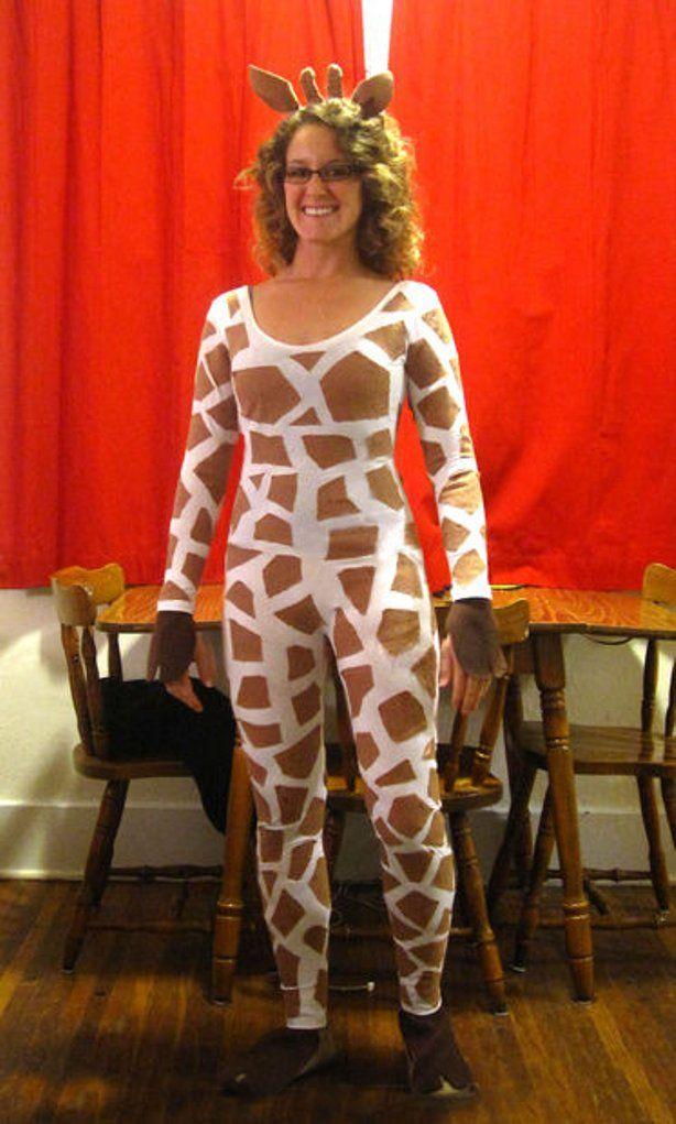 Giraffe Kostüm selber machen: DIY & Anleitung   maskerix.de