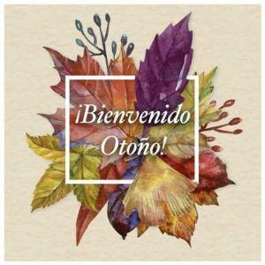 Carteles para el Otoño: Bienvenido  Frases  Imágenes #bienvenidootoño