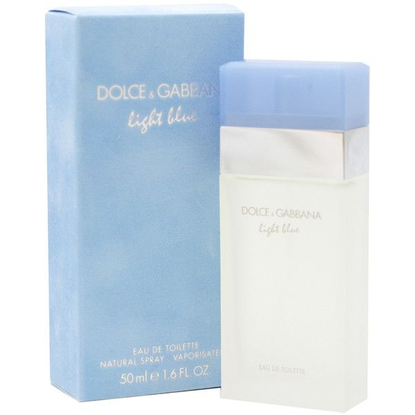 Dolce Gabbana Light Blue Perfume Eau De Toilette Spray 1 6 Oz 50 57 Liked On Polyvore Profumi