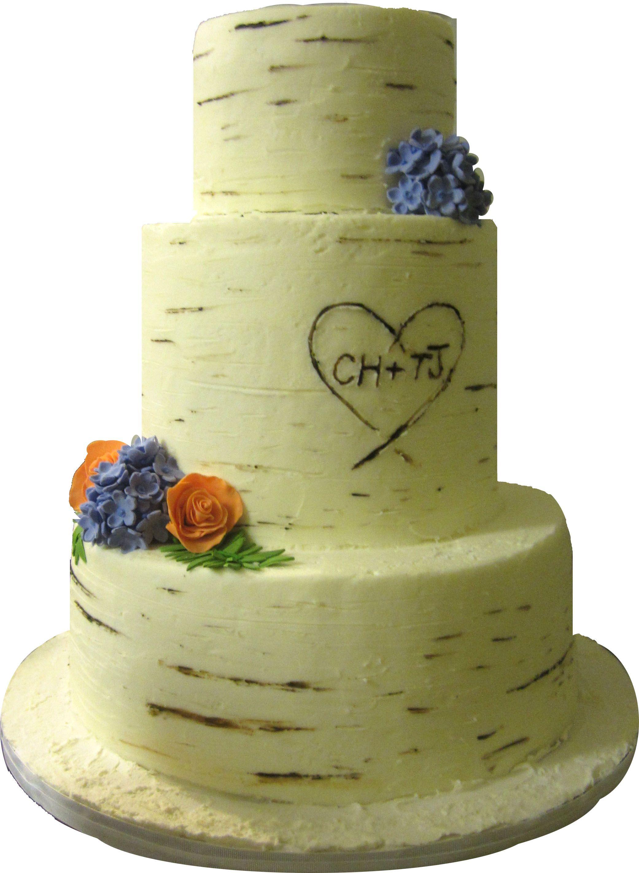 birch tree wedding cake richmond va | decorated cakes | Pinterest