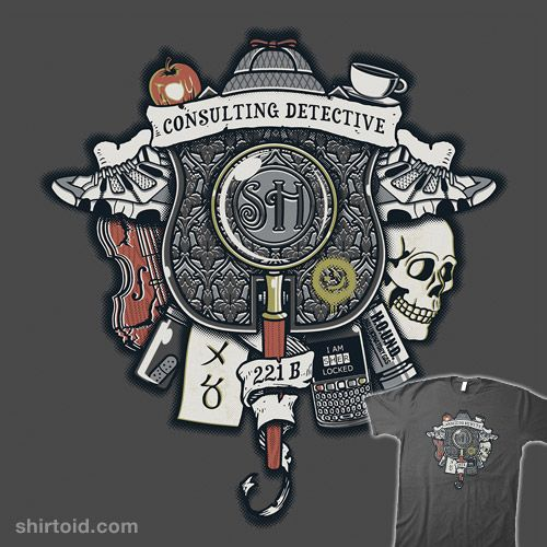 Consulting Detective Crest