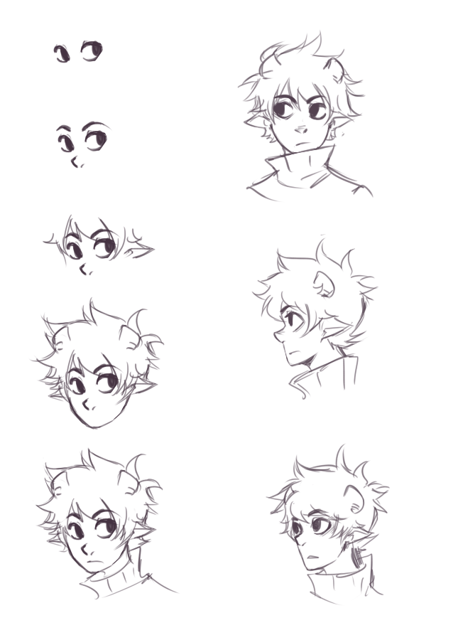 ikimaru's face tutorial. If I had one wish, it'd be to