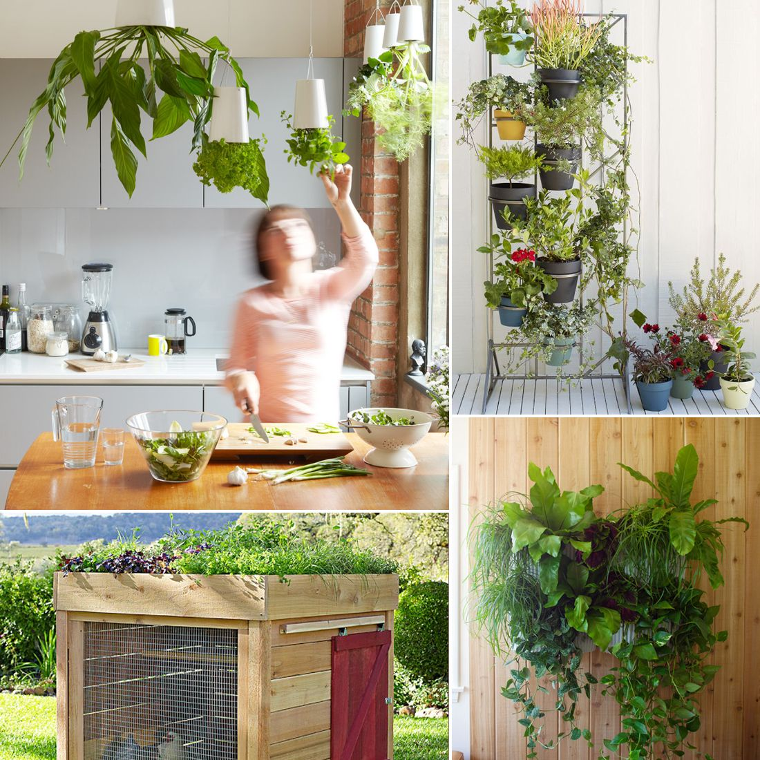 6 Cool Herb Gardens For Small Spaces Herb Garden Small 640 x 480