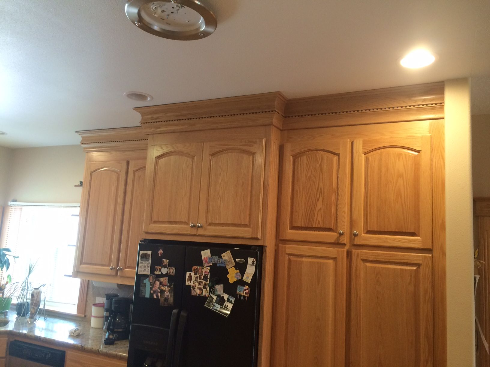 Pin by Cabinet Technology on Custom Crown Molding | Red ...