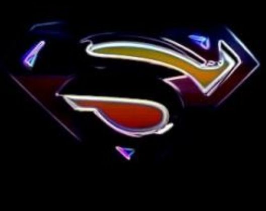 black superman logo superman