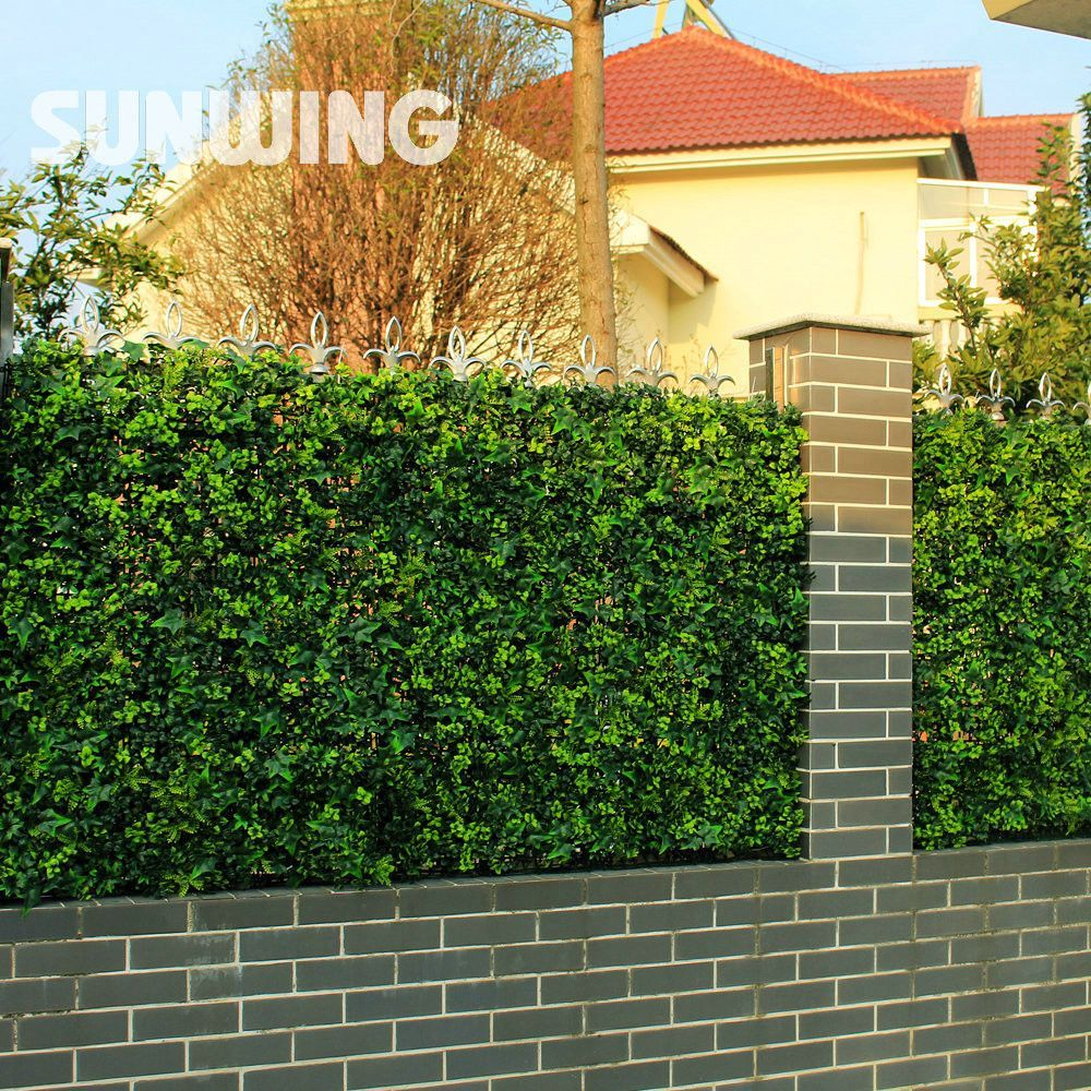3sqm Artificial Ivy Fence Screening UV Proof Green Ivy Wall ...
