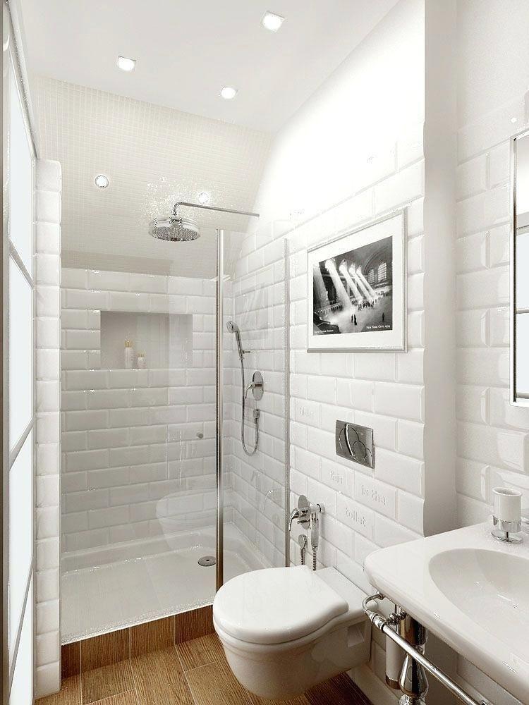 60 Subway Tile Small Bathroom Bathrooms Remodel Small Bathroom Bathroom Inspiration