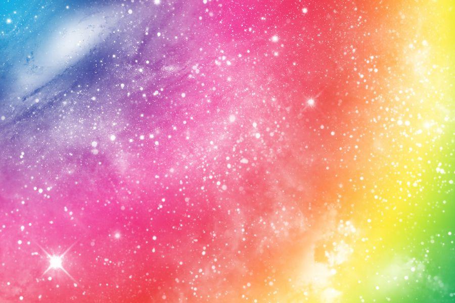 space rainbow desktop backgrounds - photo #10