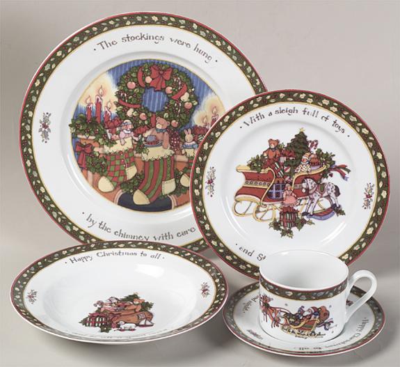 Christmas Story by International. Christmas DinnerwareChristmas Dishes Christmas ChinaThe Night Before ... & Christmas Story by International | Vintage Items | Pinterest ...
