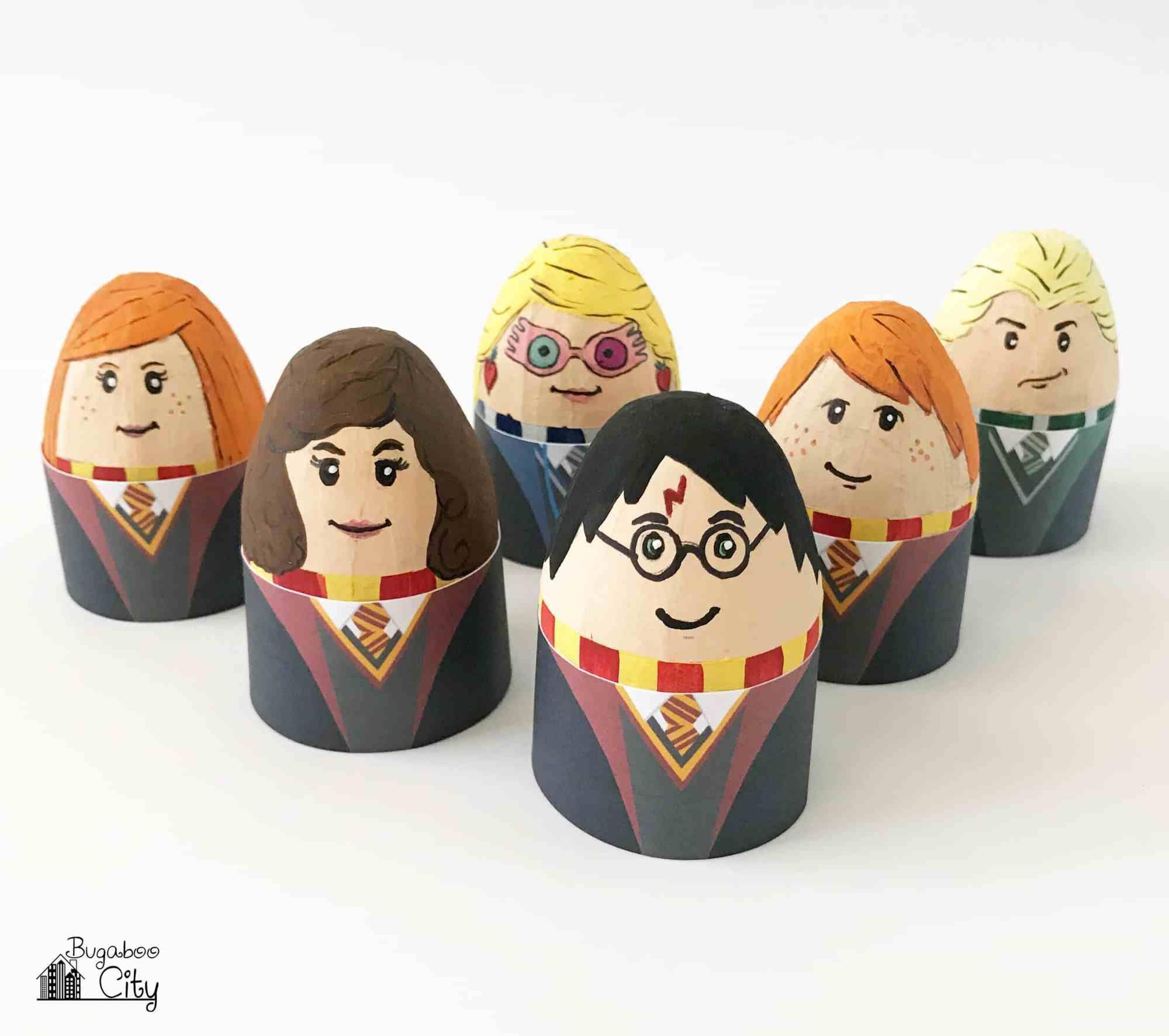 Harry Potter Easter Eggs Free Printable Egg Wrappers Harry Potter Easter Eggs Unique Easter Eggs Easter Egg Designs