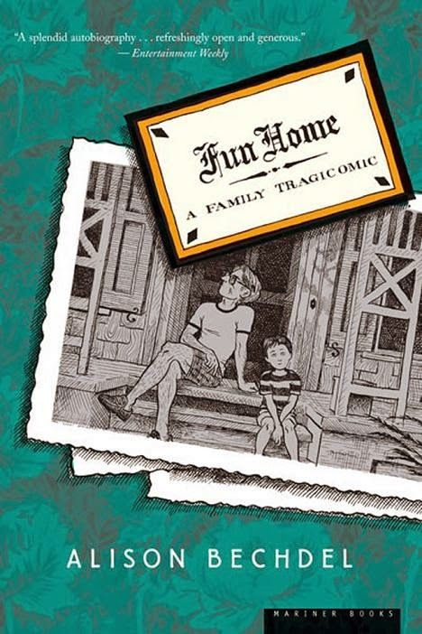 What Red Read: Fun Home by Alison Bechdel